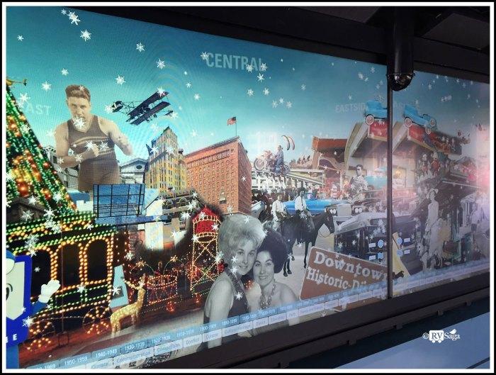 Digital Wall at El Paso