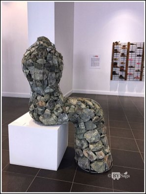 Sculpture in Wires and Stones