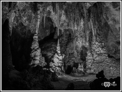 Chinese Theater. Carlsbad Caverns, Carlsbad, New Mexico.