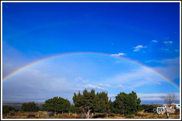 Double-Rainbows-and-Blue-Sky