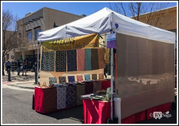 A Linens Booth