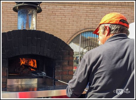 The Pizza Man and the Wood Fire Oven