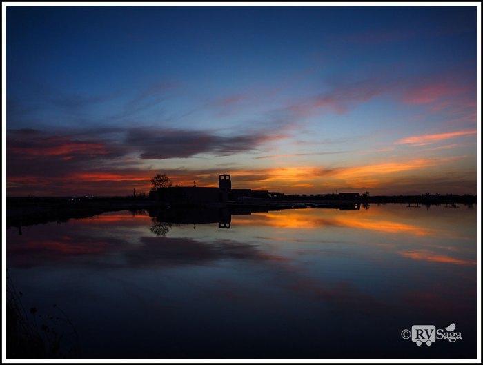 Sunset at Bottomless Lake