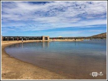 Swimming Area of Bottomless Lake