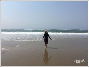 Walking-on-An-Oregon-Beach