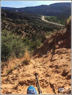 Descending the Rock Formation