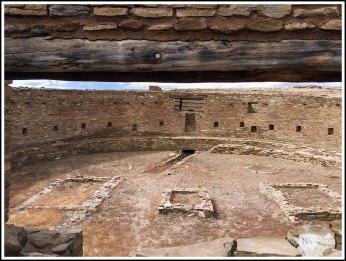 Great Kiva at Casa Rinconada. Chaco Canyon, New Mexico