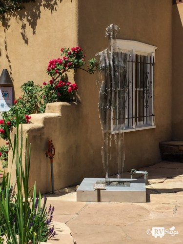 More Arts and Flowers in Santa Fe