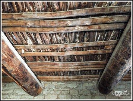 Original Ceiling at Aztec Ruins
