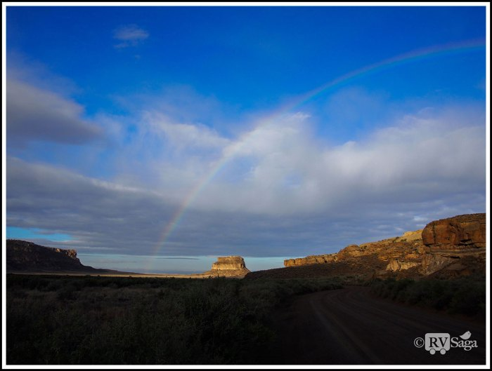 Rainbow-Above-Fajada-Butte-in-the-Morning