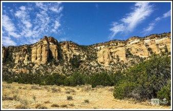 Towering Zuni Sandstone Cliffs