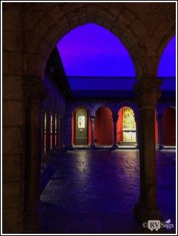 Artificial Twilight Illuminated Cloister