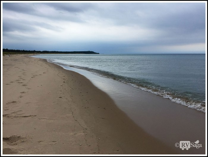 Calm-Tides-of-Lake-Michigan-Near-Platte-River-Campground