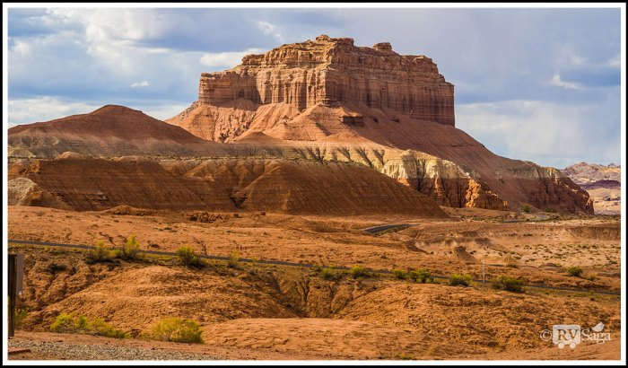 Butte-at-Goblin-Valley-State-Park