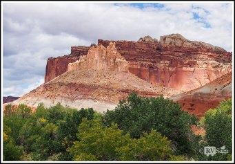 Cliffs at Capital Reef National Park. Utah