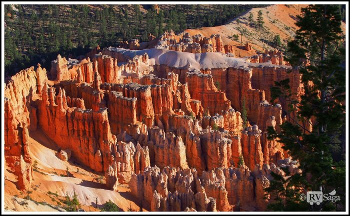 White-Capped-Golden-Rock-Formations