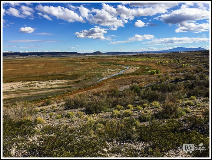 Dry-Elephant-Butte-Lake