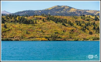 Fall Colors and North Lake. Highway of Legends, Colorado