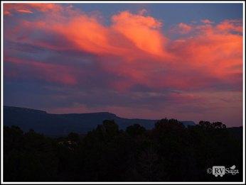 Sunset Above Trinidad. Colorado