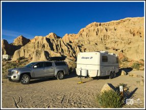 Camping Under the Cliffs at Rock Canyon Campground