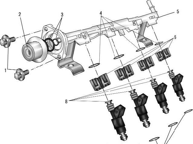 Промывка инжектора Ford Focus (Форд Фокус) 2. Чистка