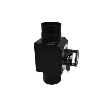 EW 200 ventilator zwart inclusief bediening