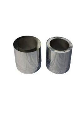 Isotube Plus 150x200 paspijp 275-390 mm ZWART