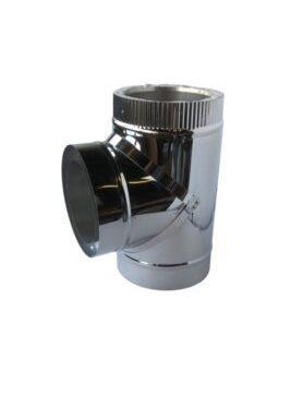 Isotube Plus 200x250 T-stuk 90 graden met dop