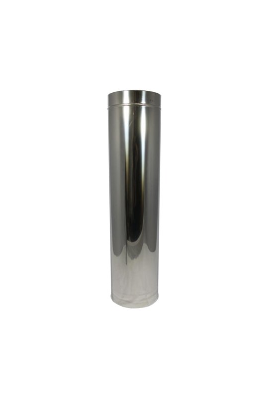 Isotube Plus 80 x130 sectie 1000 mm ZWART