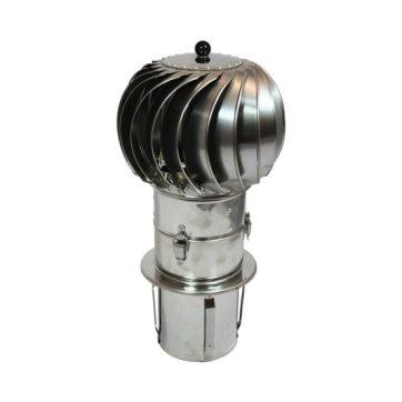 Turbowent draaikap (insteek 250 mm)