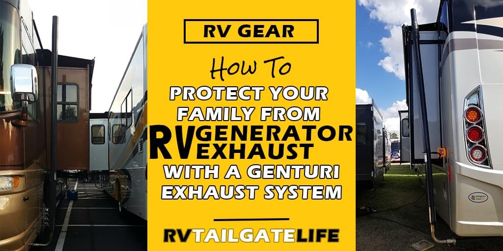 genturi rv generator exhaust system