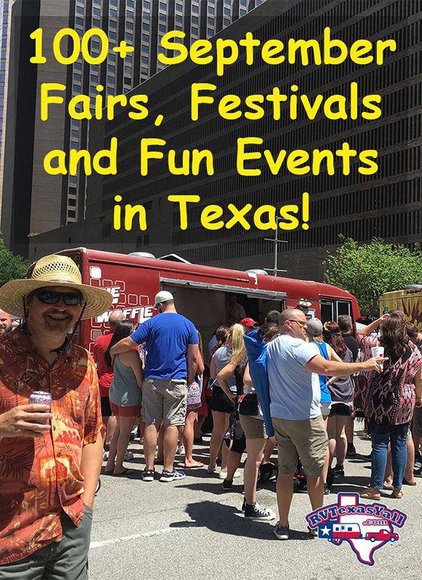 September Festivals and Fun Events in Texas  RVTexasYallcom