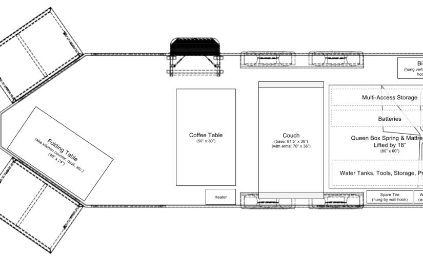 AZ Layout & Bed Frame with Storage