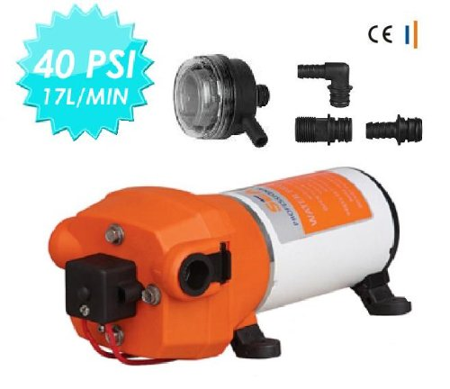 Seaflo 12V 100 PSI Water Pump RV Boat High Pressure for Marine //Boat