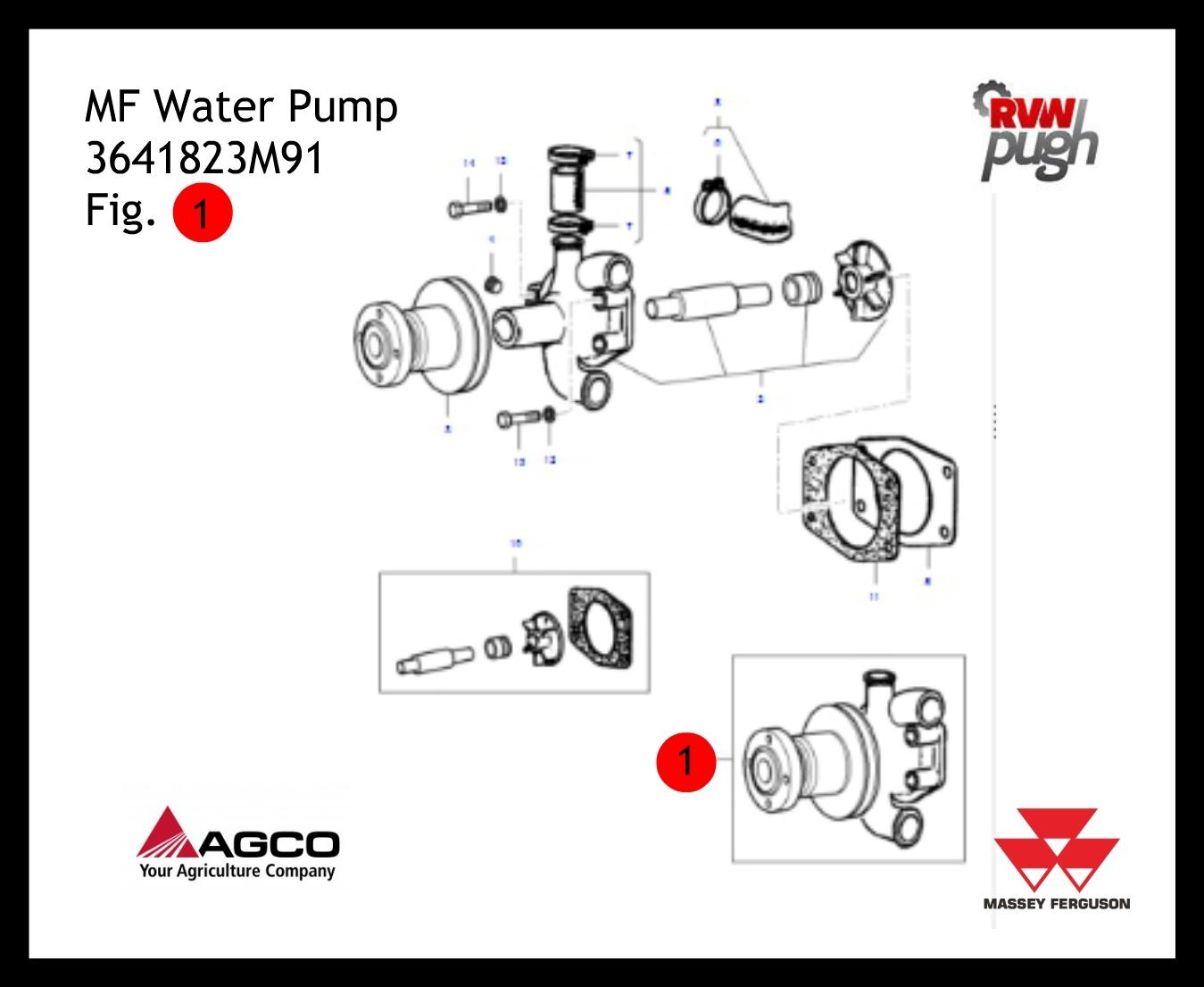 Massey Ferguson Water Pump