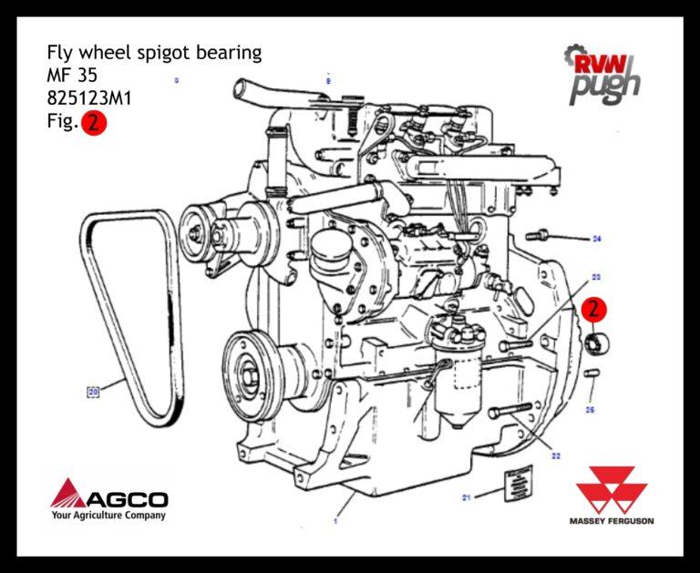 Fly Wheel Spigot Bearing 35- 4200