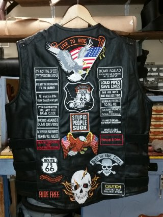 Patches For Jackets Near Me : patches, jackets, Custom, Leatherworks, Sewing, Services