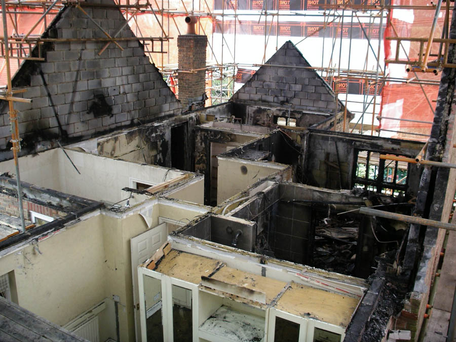 RWA Consultancy fire damage inspection images