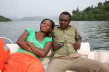 Janvier 2012 Lac Kivu Rwanda Pays Des Mille Collines