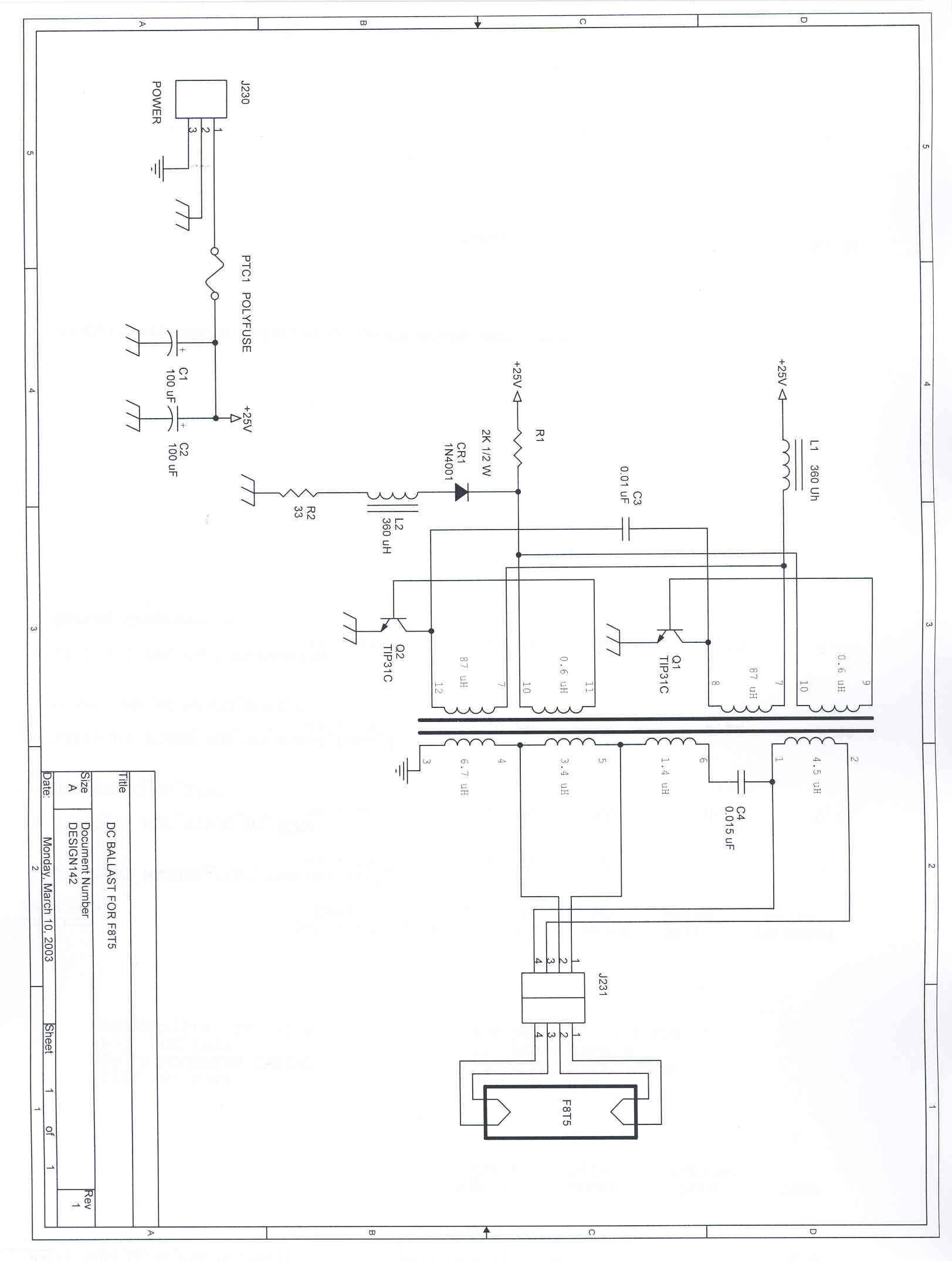 F8t5 Ballast Wiring Diagram : 27 Wiring Diagram Images