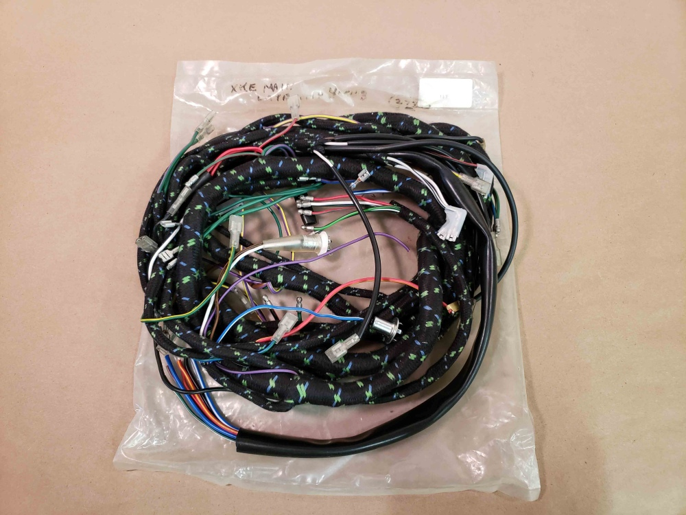 hight resolution of jaguar xke e type series 1 4 2 complete main engine bay wiring harness lhd new