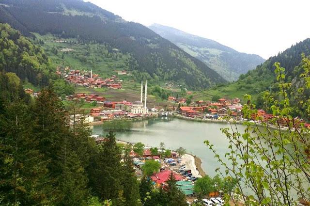 أوزنجول أجمل الأماكن السياحة في تركيا
