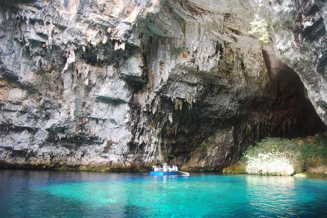 كهف ميليساني ، من عجائب الطبيعة في اليونان