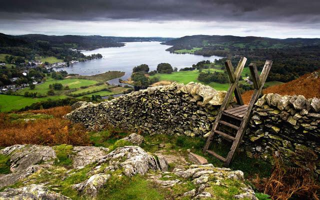 أماكن ساحرة - بحيرة دستركت في إنجلترا