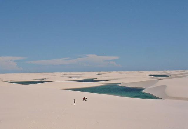 الحديقة الوطنية ينكويس مارانهيسيس ، البرازيل