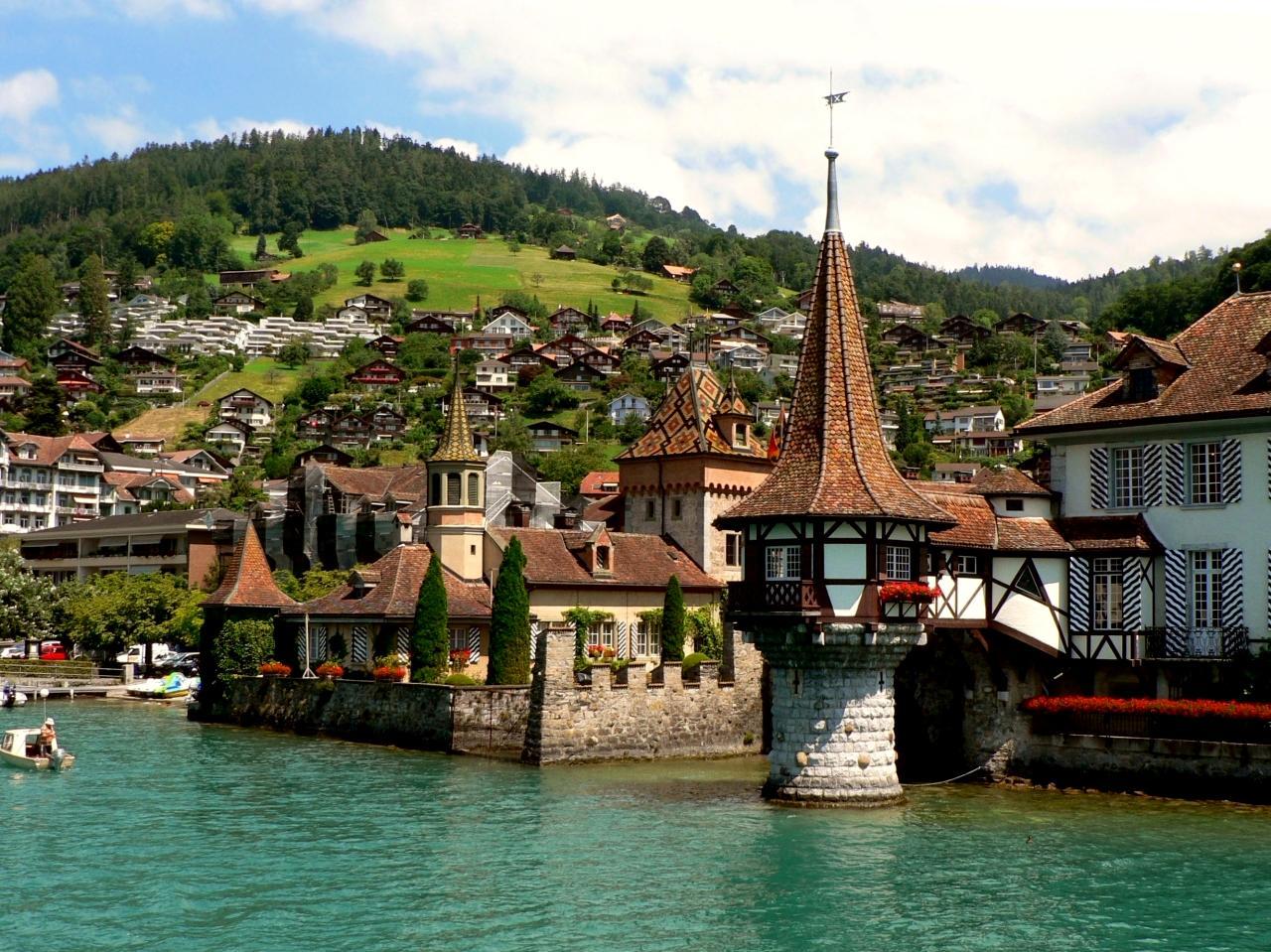أجمل المناطق السياحية في إنترلاكن سويسرا