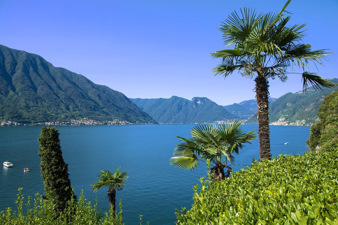 بحيرة كومو أشهر البحيرات الرومانسية في العالم