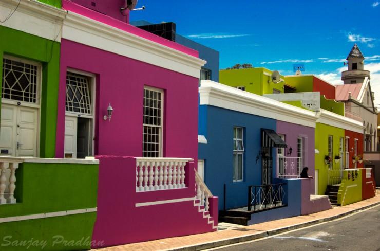 بو-كاب، كيب تاون، جنوب أفريقيا - أجمل الأماكن الملونة في العالم