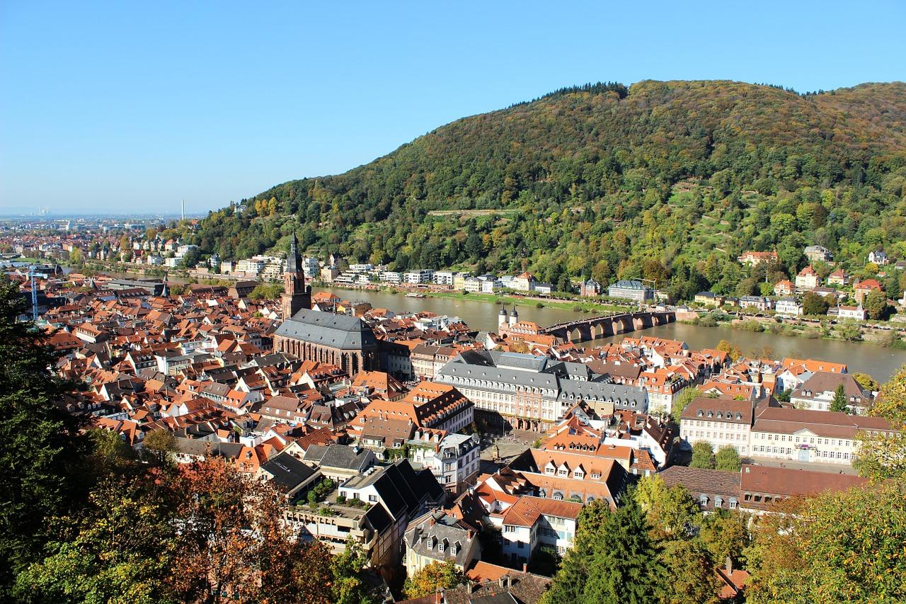أكثر الأماكن رومانسية في هايدلبرغ ، ألمانيا