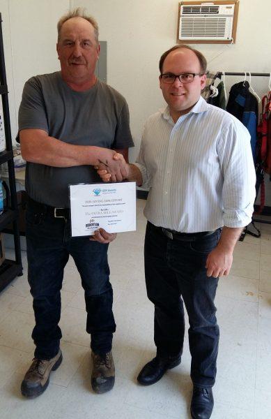 April GEM Award Recipient – Ray C.